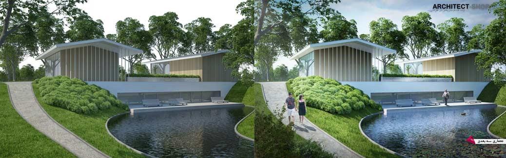 آموزش postproduction در معماری