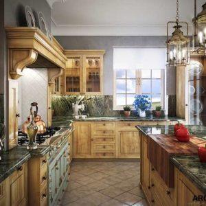 آموزش طراحی آشپزخانه در 3dmax