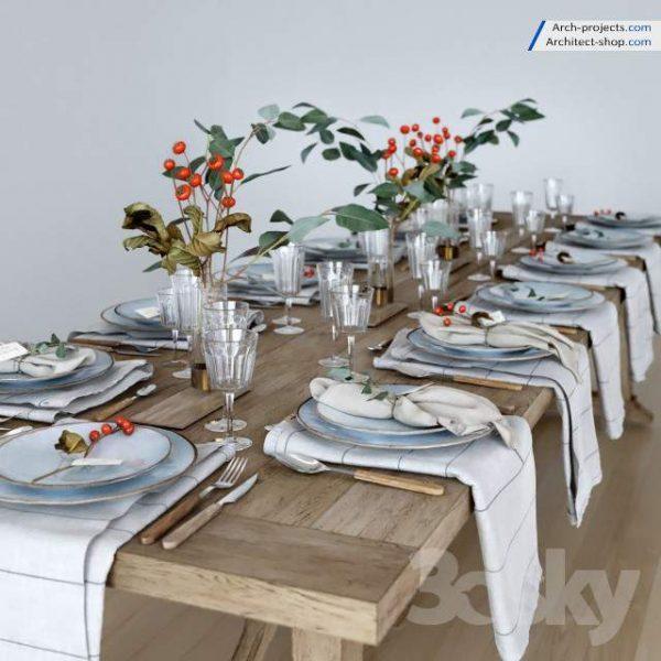 آبجکت میز غذا