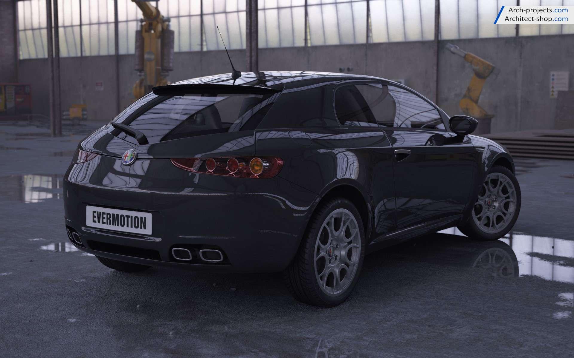 مدل سه بعدی ماشین شاسی بلند