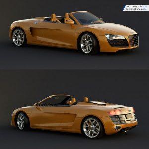 مدل سه بعدی ماشین