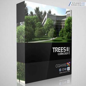 مدل سه بعدی درخت cgaxis