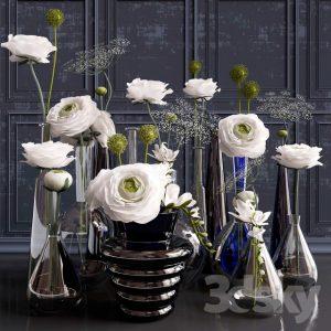 آبجکت گلدان دکوری