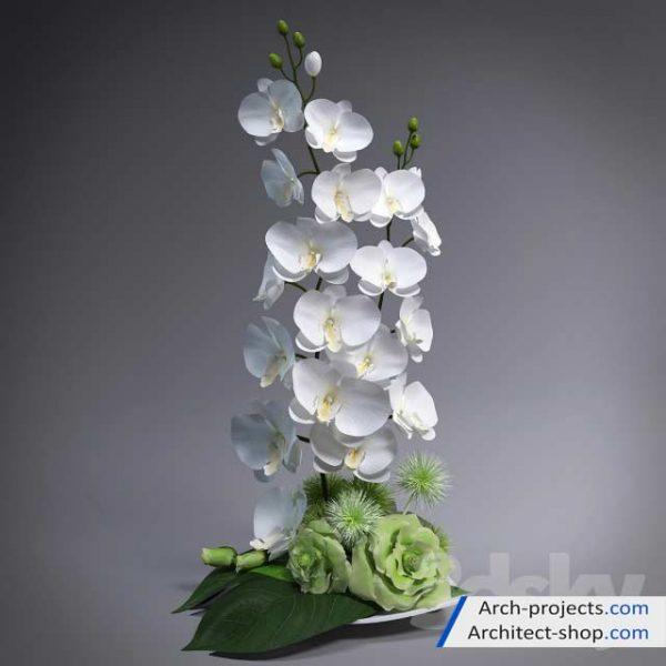 آبجکت گلدان تزئینی