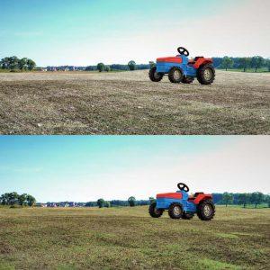 مدل سه بعدی زمین کشاورزی